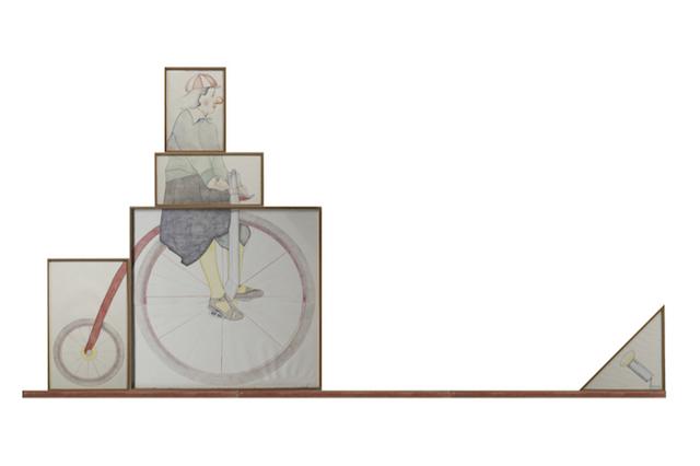 """, 'Da """"Il Circolo Pickwick"""" di Charles Dickens,' 1978, Galleria Antonio Battaglia"""