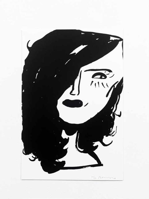 , 'Black Ink #5,' 2017, WILLAS Contemporary