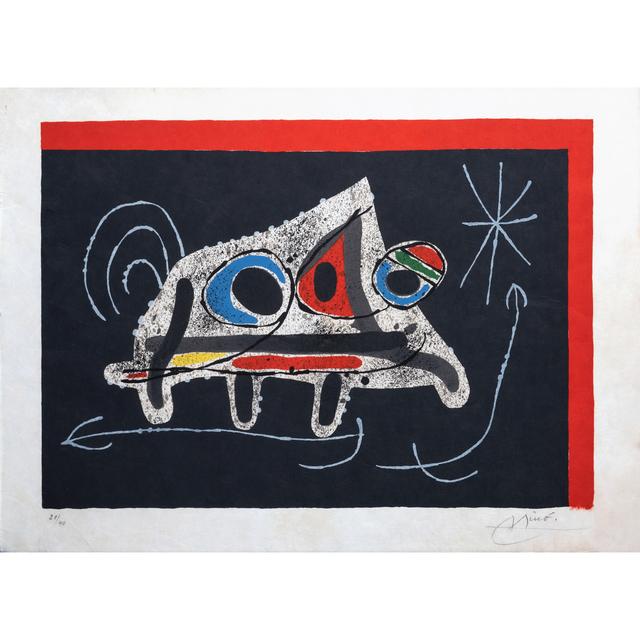 Joan Miró, 'Le lézard aux plumes d'or, planche 1', 1971, PIASA