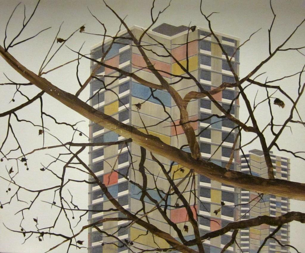 Untitled (Study for new brutal modernists)
