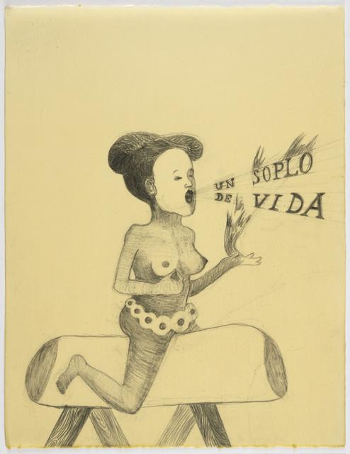, 'UN SOPLO DE VIDA ,' 2010, Wooson Gallery