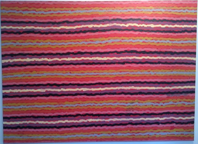 Clifford Possum Tjapaltjarri, 'Spear Dreaming- South of Naperby', Rebecca Hossack Art Gallery