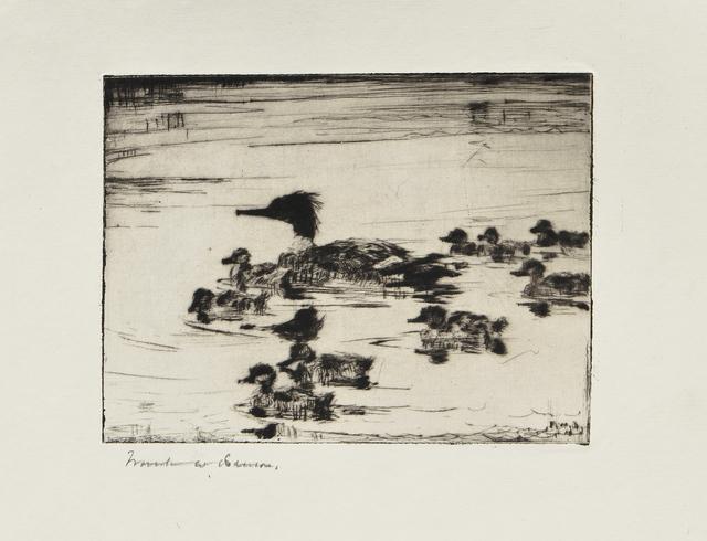 Frank Weston Benson, 'The Sheldrake's Brood', 1926, Skinner