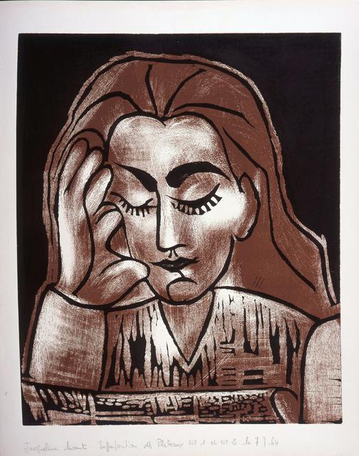 , 'Jacqueline Lisant,' 1962, Frederick Mulder