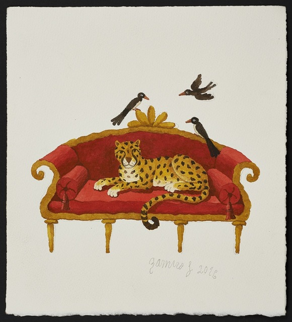 , 'Resting Leopard,' 2016, Long & Ryle