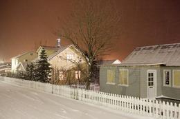 , 'Orange Night, Grundarfjörður,' 2012, Robert Mann Gallery