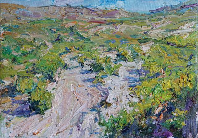 , 'Desert Landscape,' 2017, Gallery 1261