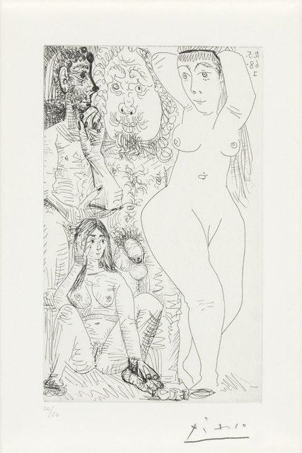Pablo Picasso, 'Les Modes Changent: Deux Couples (B. 1556)', 1968, Doyle