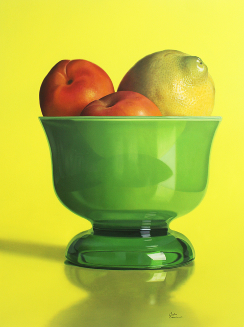 Carlos Bruscianelli, 'Still Life with Green Bowl', 2020, Painting, Oil on canvas, Clark Gallery
