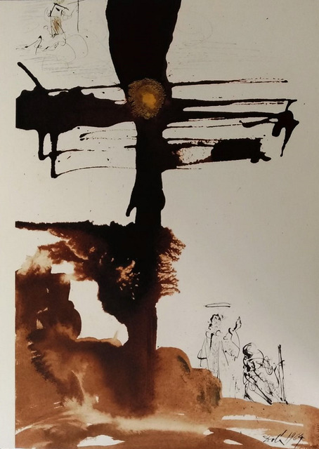 "Salvador Dalí, 'Veni, domine Iesu - From ""Biblia Sacra""', 1964, Wallector"