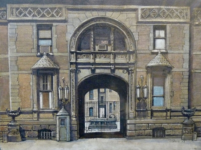, 'Dakota Entrance (Original Painting),' 1973, Alpha 137 Gallery