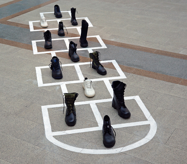 , 'Hopscotch,' 2016, XL Gallery