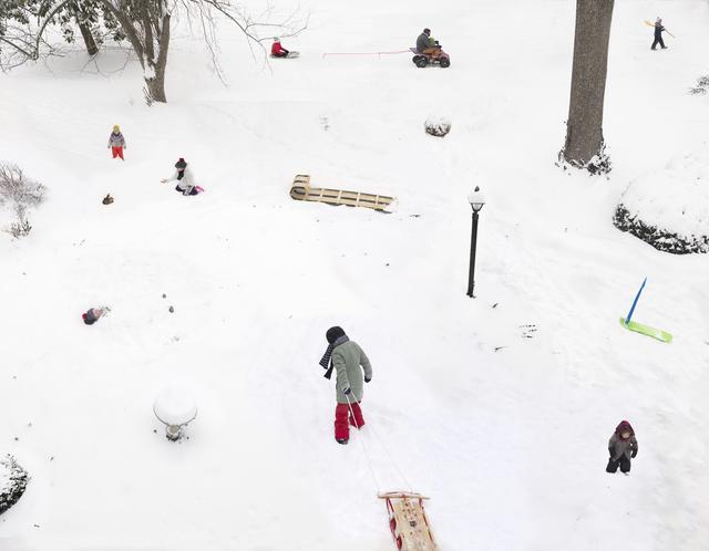 Julie Blackmon, 'Snow Days', 2021, Photography, Archival pigment print, Haw Contemporary