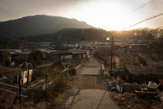 , 'Guryong Village,' 2014-2015, Silver Eye