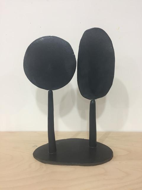 , 'Untitled (Black Round & Oblong),' 2019, Jason McCoy Gallery