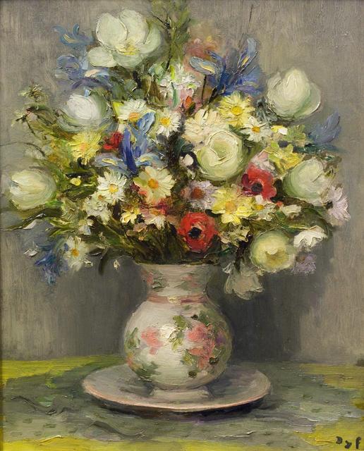 , 'Tulipes et anémones (Poem in Repose),' 1971, Guarisco Gallery