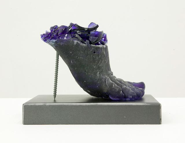 Rachel Owens, 'Footwear (Blue Heel)', 2015, Children's Museum of the Arts Benefit Auction