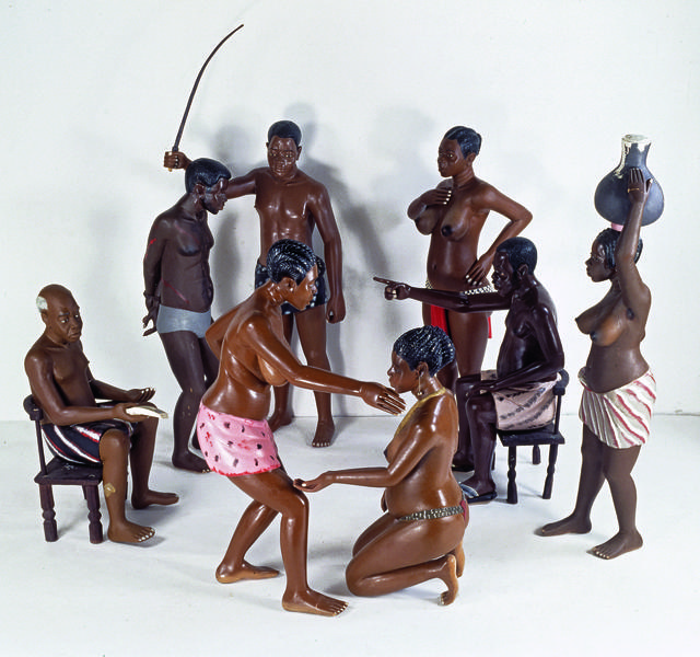 , 'Untitled (Adultery Scene),' 1991, Musée du quai Branly