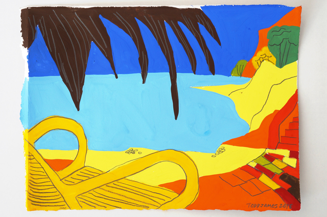 , 'Apollo's Cabana,' 2018, Dio Horia