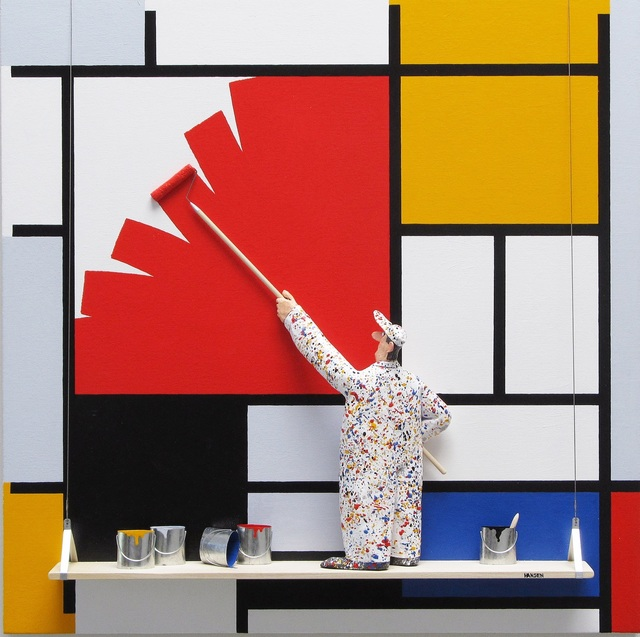 , 'Composition with Large Red Plane, Yellow, Black: Mondrian,' , Zenith Gallery