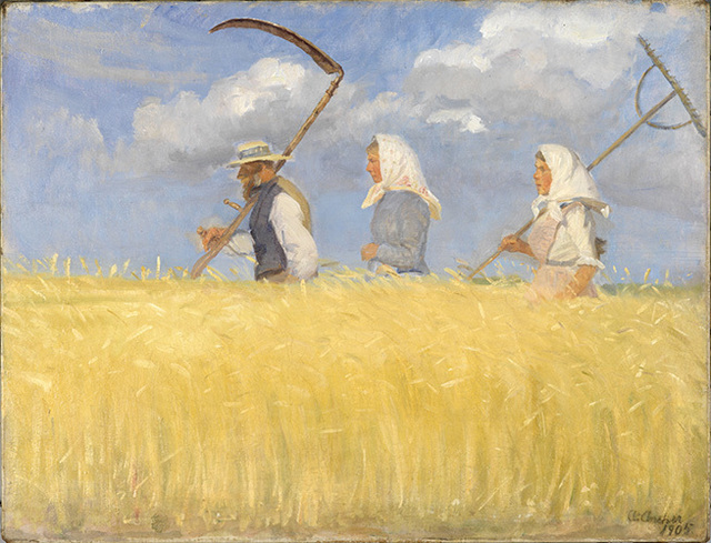 , 'The Harvesters,' 1905, American Federation of Arts