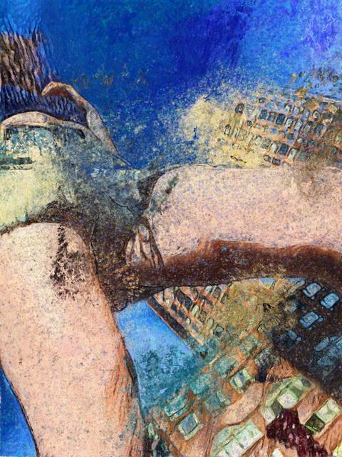 Leah Schrager, 'Thigh Rise', 2019, Roman Fine Art