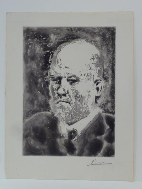 Pablo Picasso, ' Portrait de Vollard I', 1937, Le Coin des Arts