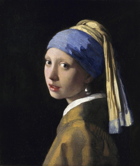Johannes Vermeer, 'Girl with a Pearl Earring,' ca. 1665, Art History 101