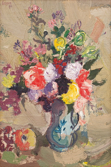Gregoire Johannes Boonzaier, 'Still Life with Vase of Flowers', 1971, Strauss & Co