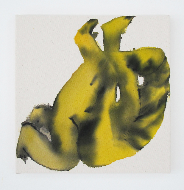 , 'Yellow Twist Eros Play,' 2016, V1 Gallery