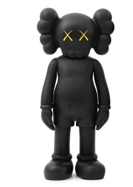 KAWS, '4ft Companion (Black)', 2007, Rosenfeld Gallery LLC
