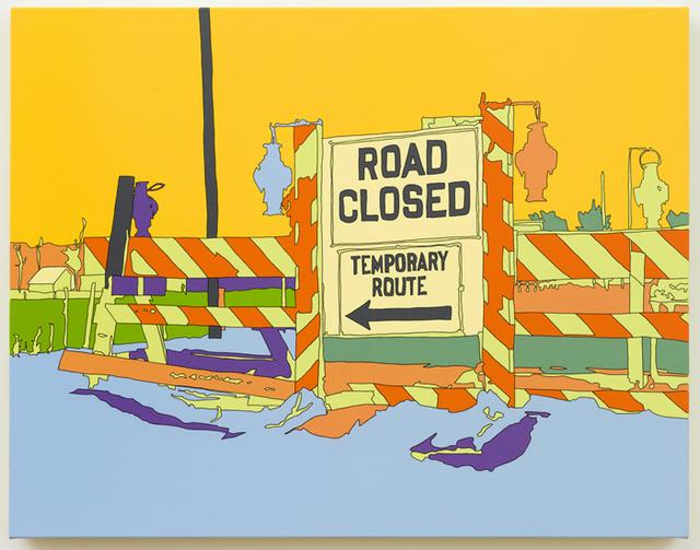 , 'Arthur Rothstein: Detour sign, Chillicothe, Ohio,' 2013, Eleven Rivington