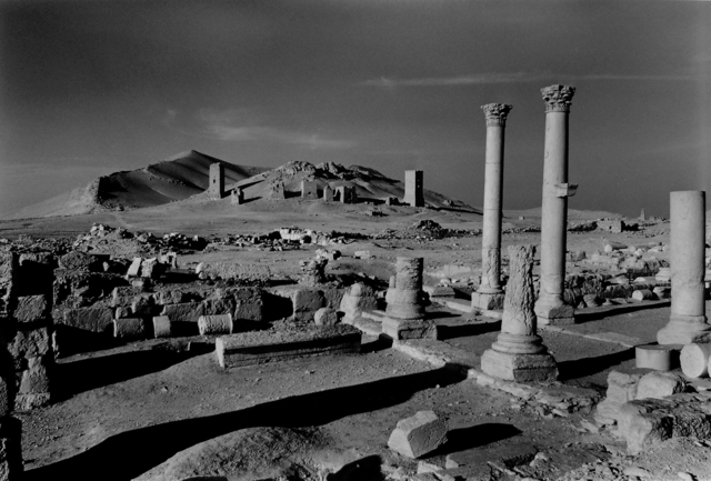 Don McCullin, 'Looking towards the Valley of the Tombs, Palmyra, Syria', 2005, Howard Greenberg Gallery