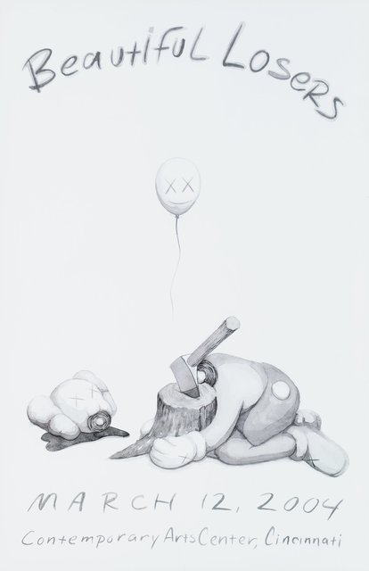 KAWS, 'Beautiful Losers, exhibition poster (five works)', 2004, Heritage Auctions