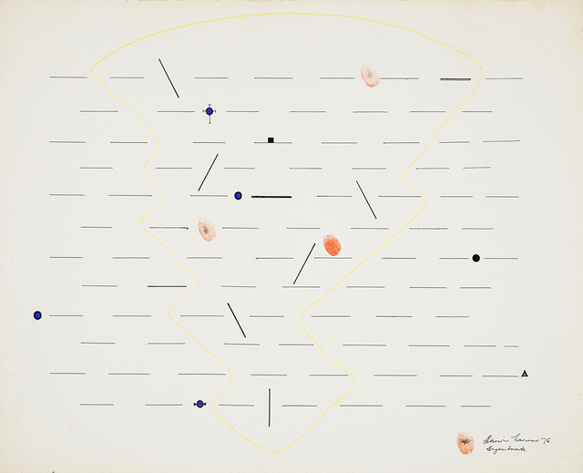 , 'Enjambments,' 1976, Charles Nodrum Gallery