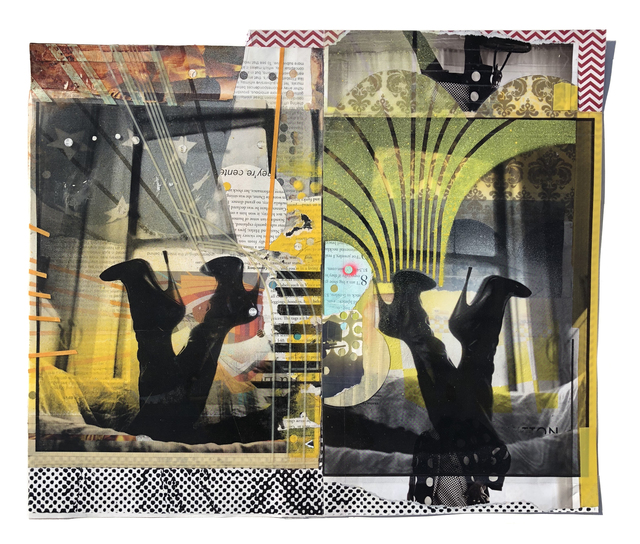 , 'Mara (Collage Study),' 2018, Coagula Curatorial