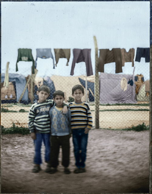 , 'Three Musketeers. From Soliman's Tent Series, Adana Turkey,' 2014-2015, Hafez Gallery