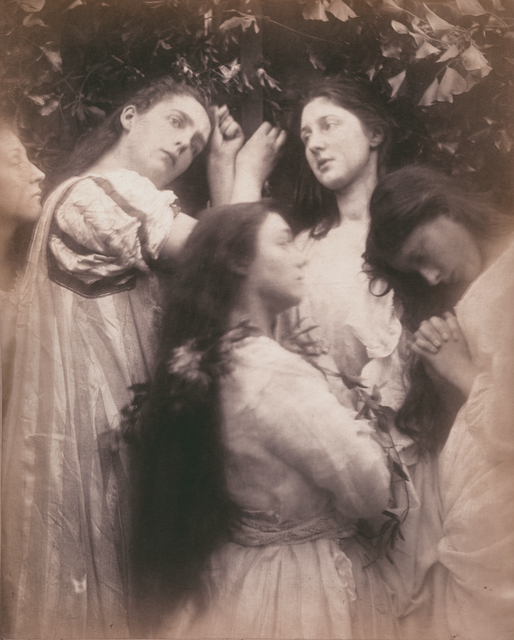 ", 'Mary Hiller and Four Other Women (""Have we not heard the Bridegroom is so sweet!""),' 1870, Contemporary Works/Vintage Works"