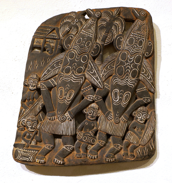 Papua New Guinea Tribal Art, 'Storyboard 17', 1960-1995, Etherton Gallery