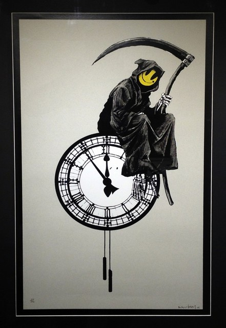, 'Grin Reaper,' 2005, Rhodes