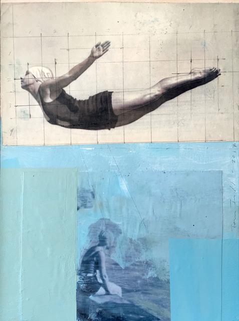 , 'Swim Club,' 2017, Sue Greenwood Fine Art