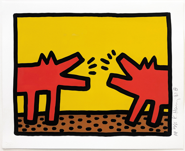 Keith Haring, 'POP SHOP IV (2)', 1989, Gallery Art