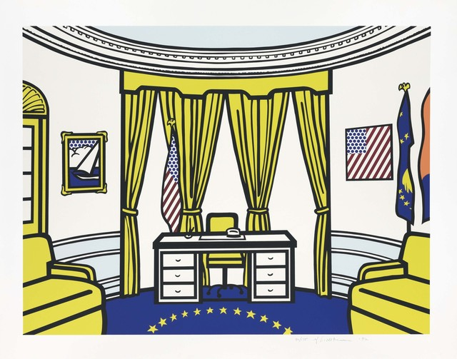 Roy Lichtenstein, 'The Oval Office', 1992, Christie's