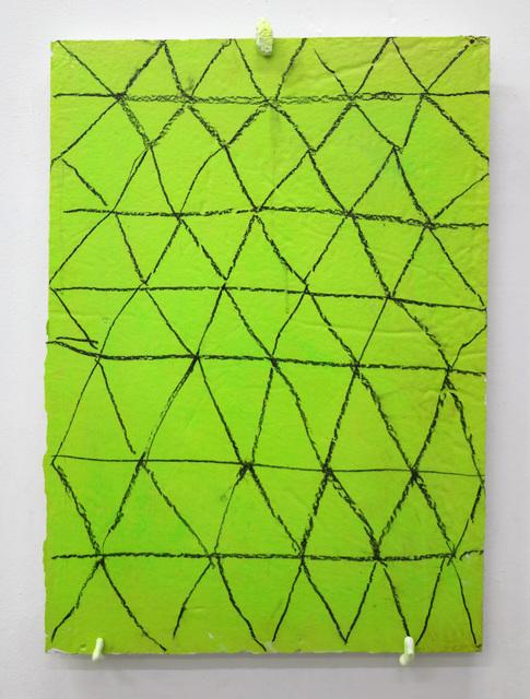 , 'Celosia Grass in green,' 2018, Mercado Negro