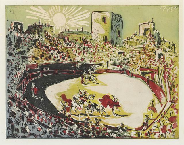 Pablo Picasso, 'Corrida en Arles', 1951, Christie's