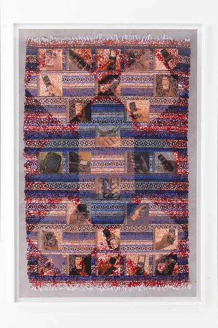 , 'Ethnographic Sound Blanket,' 2010, Nina Johnson