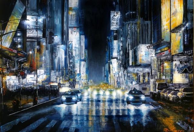 , 'Midtown Manhattan,' 2018, SimonBart Gallery