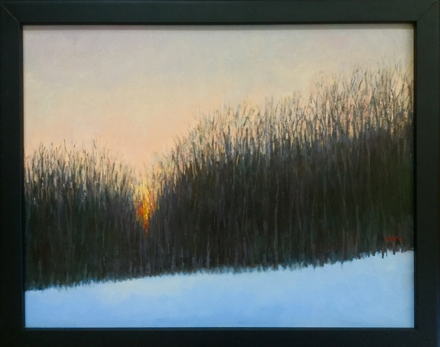 Elissa Gore, 'Last Light, Winter', 2008-2019, Madelyn Jordon Fine Art