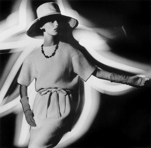 , 'Dorothy + Light Hat profile, Paris (Vogue),' 1962, HackelBury Fine Art
