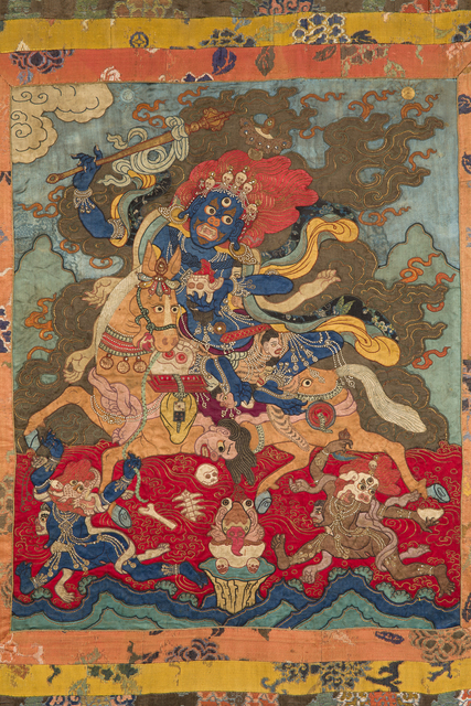 'Magzor Gyalmo, the Queen Who Repels Armies', 18th century, Rubin Museum of Art